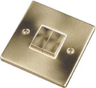 Beaumaris Satin Brass